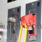 Aplicación real del bloqueo para caja moldeada 277, 480 o 600 voltios