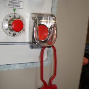 Aplicación Real del bloqueo de botoneras - Paso 2