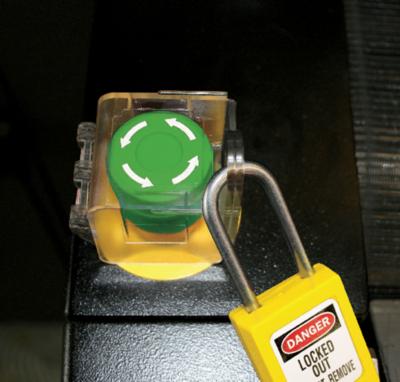 Interruptor circular bloqueado - Sister-Soft Lockout