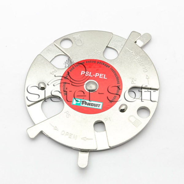 Disco de bloqueo neumático para consignar los enchufes rápidos