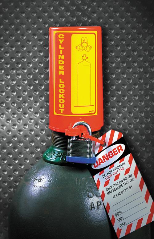 Bloqueo para cilindros de gas de hasta 88mm