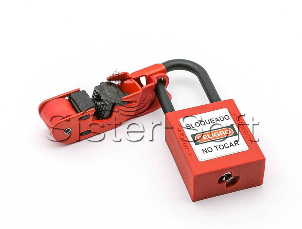 Caja Moldeada para el bloqueo (Lockout) de disyuntores de 120 o 240 voltios
