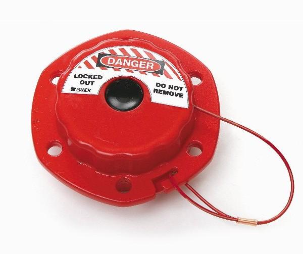 Válvulas de compuerta mini cable con acero recubierto de vinilo de 2,4m
