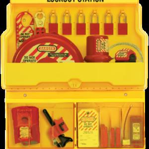 Estación de bloqueo - almacenaje de elemtos de Lockout-Tagout