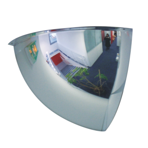 Espejo hemisférico para interiores