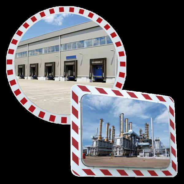 Espejos industriales para condiciones extremas 2 direcciones