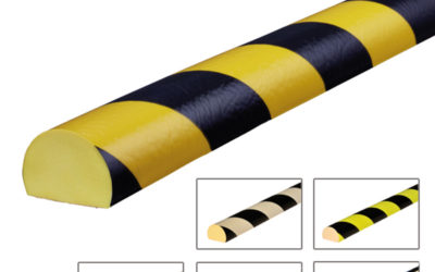 PR – Amortiguador de golpes para superficies planas