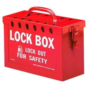 REF:LT00017-1    Caja de Lockout Roja