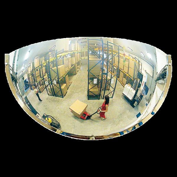Espejos Industriales de cuarto de esfera 180º