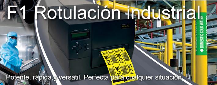 F1 - Equipo de Rotulación Industrial - Potente , rápida, versátil
