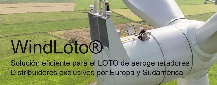 WindLoto® - Tecnología Lockout Tagout para el bloqueo eficiente de aerogeneradores
