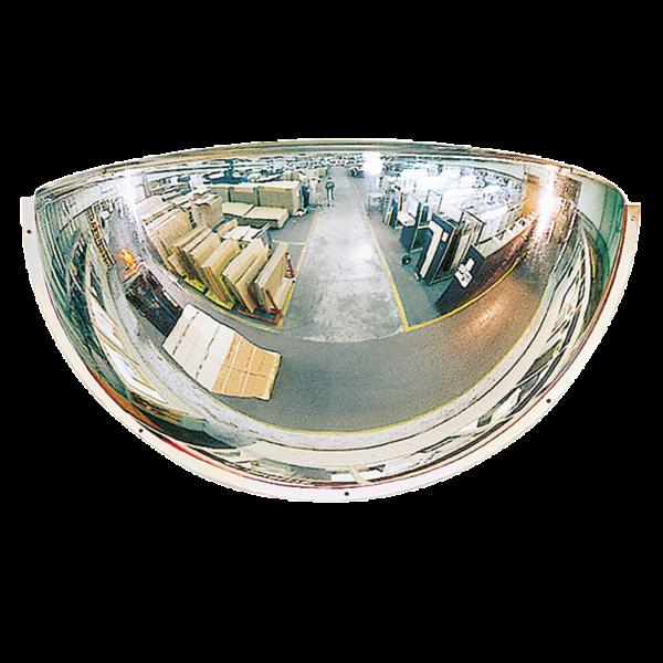 Espejos Industriales de cuarto de esfera 180º PMMA®