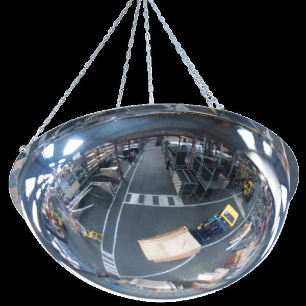 Espejos Industriales Hemisféricos para colgar PMMA