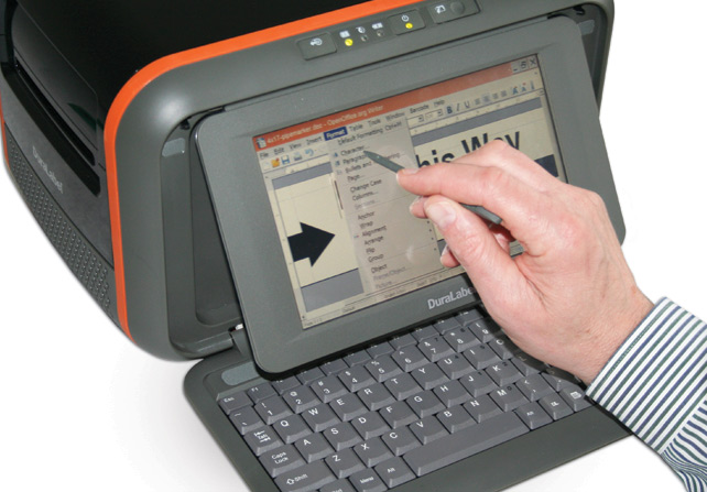 Operar fácilmente con la pantalla táctil