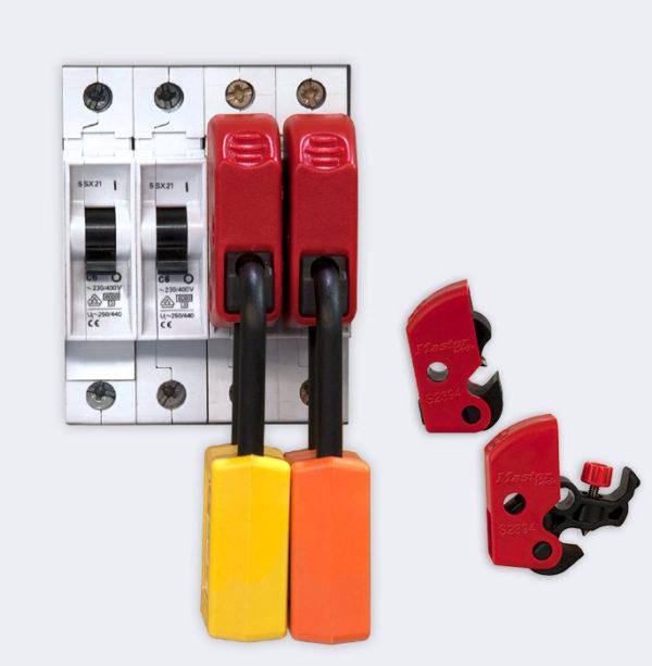 Minibloqueo universal para disyuntores tipo ISO / DIN