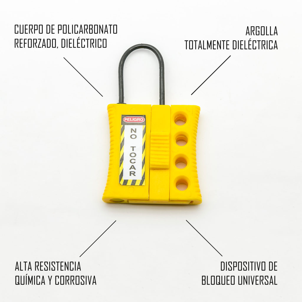 Minialdaba - Bloqueo universal para térmicos y guardamotores totalmente dieléctrico
