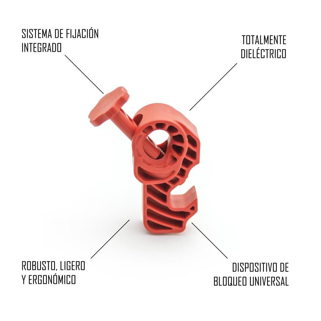 TBUD - Bloqueo universal disyuntores totalmente dieléctrico