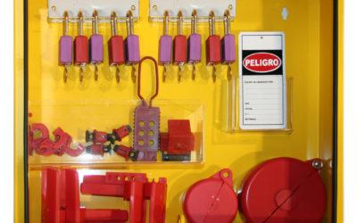 Armarios para candados y elementos de bloqueo y consignación