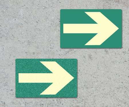 Flechas direccionales para pared o suelo