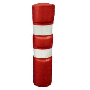 Hito Rojo - Poste de delimitación especialmente indicado para zonas de tráfico. muy resistente a la intempérie