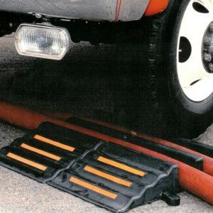 Las rampas de paso son ideales para los camiones de bomberos por sus características
