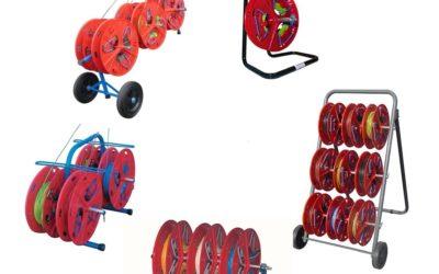 Gama QUAD- Soportes ligeros para bobinas