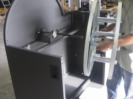 Montaje bobinadora MANU-COCCI