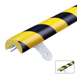 Amortiguador de golpes atornillado con colores tipo A