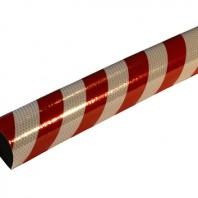 amortiguador-esquinas-ECRG-color-rojo-blanco-reflectante