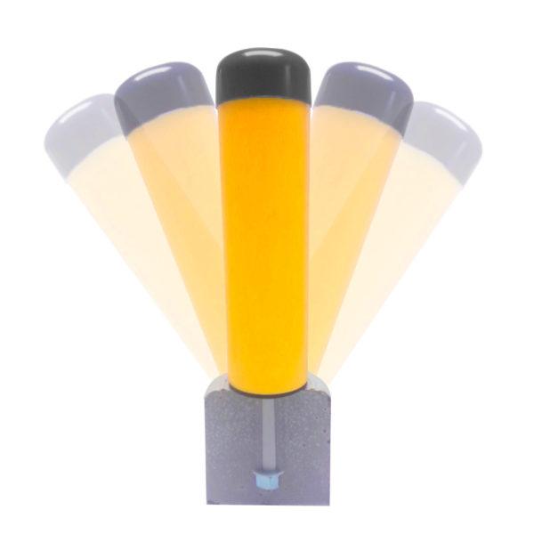 Bolardos Soft-Shock seguridad y flexibilidad para minimizar el daño por golpes