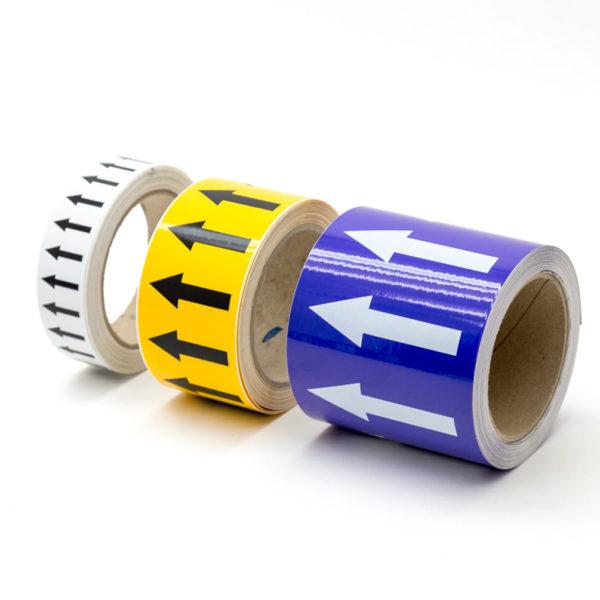 Marcador de tuberías, disponibles en 6 tamaños