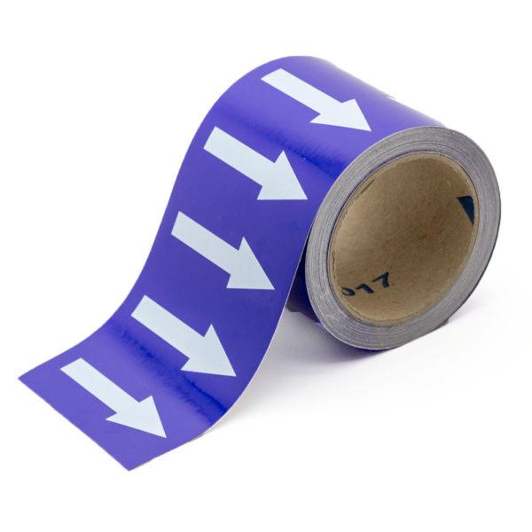 Marcador de tuberías con flechas para Lejías
