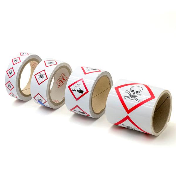 Marcadores de tuberías GHS - SGH