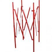 barrera-extensible-pozo-rojo-blanco