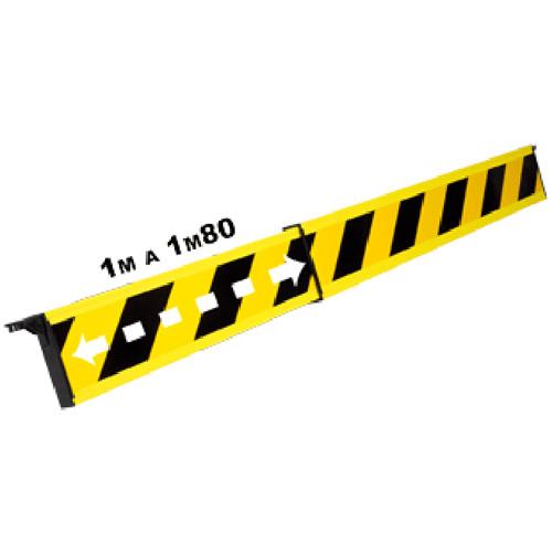 barrera-telescopica-negro-amarillo-1m-1m80