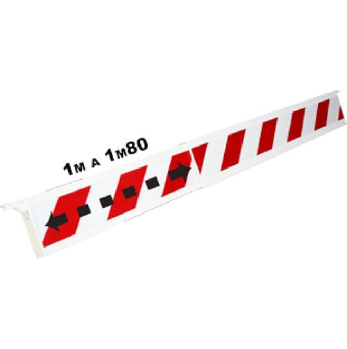 barrera-telescopica-rojo-blanco-1m-1m80