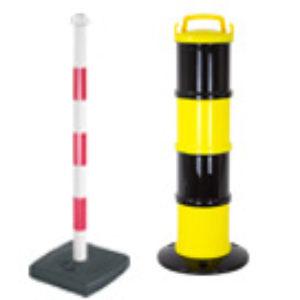 Postes de PVC y balizas de señalización