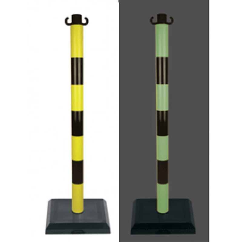 Poste-PVC-fotoluminiscente-base-3kg-imagen-destacada