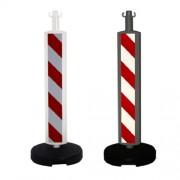 postes-alta-visibilidad-rojo-blanco