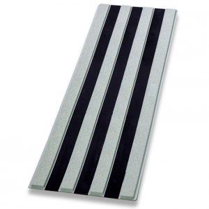 Guía de encaminamiento gris/negro