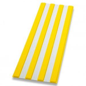 Guía de encaminamiento amarillo/gris