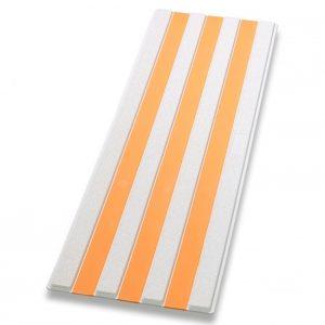 Guía de encaminamiento blanco/naranja