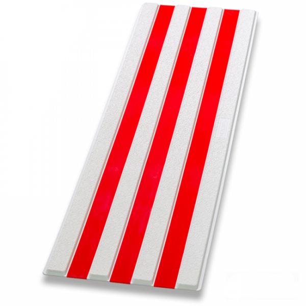 Guía de encaminamiento blanco/rojo