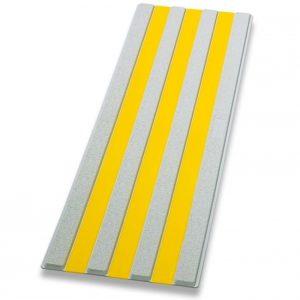Guía de encaminamiento gris/amarillo