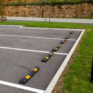 Tope Parking instalado